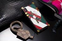 талрепная галактика оптовых-Роскошные дизайнерские телефоны Чехлы для IPhone 11 про макс X XS MAX XR 8Plus с вытяжным шнуром PU кожаный чехол для Samsung Galaxy S9 Примечание 9 10+