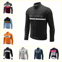 Wholesale morvelo cycling for sale - Group buy 2019 Morvelo team Cycling long Sleeves jersey Autumn MTB Bicycle Clothing Men outdoor Bike Sportswear quick drying U101711