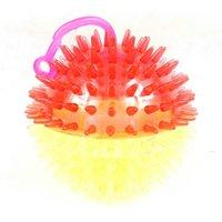 ingrosso lampeggiante corda palla-Fischio 7.5 Massaggio Incandescente Sfera lampeggiante chiamata The Rope A Hedgehog