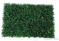 ingrosso tappeto erboso artificiale-NUOVO 40x60 cm Erba Verde Piante Erba sintetica Ornamento Da Giardino Prato Plastica Tappeto Per La Cerimonia Nuziale Xmas Party Decorazioni