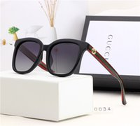 Wholesale glasses frames stylish for women resale online - Designer Sunglasses Luxury Sunglasses Stylish Fashion High Quality Polarized for Mens Womens Glass UV400 Style Little Bees Logo with Box