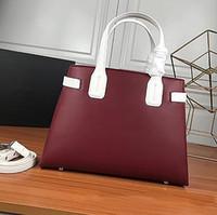 bolsos de negocios de cuero suave luz al por mayor-mujeres de negocios de gama alta YILUNXI las señoras del cuero genuino bolso bolsas temperamentales bolsa de hombro femenino bolsos femeninos de lujo Luz