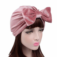 Wholesale luxury xmas gifts online - Colors Velvet Bow Tie Hair Band for Yoga Jogging Headband Designer Headband Luxury Headbands Scarf Xmas Mothers Day Gifts