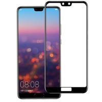 vollfilm-handy großhandel-Handy-Displayschutzfolie FÜR: Huawei P20 P30 Mate 10 20 Enjoy7 8 9 pro plus Vollbild-Siebdruck-Stahlfolie