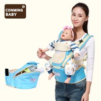 Wholesale baby carry seat for sale - Group buy 0 months kg storage ergonomic baby carrier waist breathable hipseat kangaroo sling hip seat carrying belt for newborns mom T190916