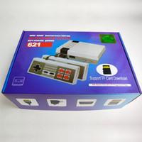 sortie de carte achat en gros de-Nouvelle mise à niveau console NES 621 HD TV console de jeu HDMI avec jeu de cartes TF ne répète pas mini classique nostalgique