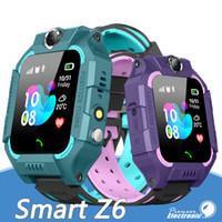 Wholesale smartphone for children online – Z6 Children Bluetooth Smart Watch IP67 Waterproof SIM Card LBS Tracker SOS Kids Smartwatch For Android Smartphone