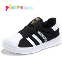 Wholesale 12 children casual shoes for sale - Group buy 2019 Spring Autumn New Children Shoes For Girls Sneakers Boys Mesh Kids Shoes Fashion Casual Sport Running Leather Shoes Girl Y19051303
