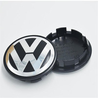 ingrosso adesivi cappuccio ruota vw-65 millimetri VW rotella Centro Caps Badge Adesivi VW nuovo commercio all'ingrosso