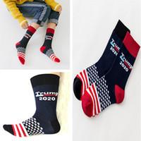 b78457a724c Trump 2020 Striped Stars Middle Long Socks Designer Men Women Knit ...