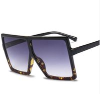 Wholesale rabbit computer resale online - Frame Big Luxary Gradient Women Sol Square Sunglasses Brand Designer Oversized Glasses Fashion Sun Shades Oculos De Vintage Igwsa
