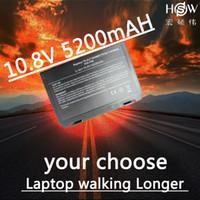 dizüstü bilgisayar pilleri asus toptan satış-HSW Asus k50ij k50ab için yeni laptop batarya laptop için laptop için k40in k50in F52 F82 K40 K50 A32-F52 A32-F82 değiştirme