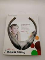 auricular de tono lg blanco al por mayor-Nuevo Auricular Estéreo Inalámbrico Auricular Estéreo con Diseño de Tono Anular HBS-730 adecuado para LG iPhone Samsung Blanco