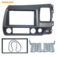 Wholesale car dvd honda resale online - FEELDO Car DVD CD Radio Stereo Fascia Panel Frame Adaptor Fitting Kit For Honda CIVIC RHD