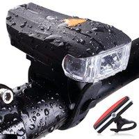 fahrrad lichter lumen großhandel-Smart Mountainbike Licht 300 lumen LED Fahrrad Frontleuchte Wasserdichte gefühl Warnlicht Im Freien Radfahren Scheinwerfer LJJZ37