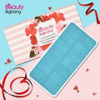 xl nagel stempel stempel großhandel-BeautyBigBang Nail Stamping PlatesGeometrisches Muster von Blumenelementen Nail Template Plate Rechteck Stencil Stamp BBB XL-024