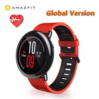 Wholesale oxygen monitor ce for sale - Group buy Original Xiaomi Huami Watch AMAZFIT Pace GPS Running Bluetooth Sports Smart Watch Heart Rate Monitor CE Touch Screen Global