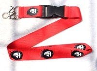 Wholesale country cards resale online - Lanyard Neck Strap Necklace Key Chain Card Badge Holder Americas Country Che Guevara