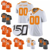 Wholesale joshua dobbs jersey for sale - Group buy NCAA Custom Tennessee Volunteers College Football Jerseys Henry To o To o Jersey Kenny Chesney Will McBride Jalen Hurd Joshua Dobbs Stitched
