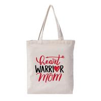пустая сумка оптовых-Custom Pattern Blank Canvas Bag Student Gift Women Shopping Tote Bag Fashion Cartoon Print Cotton Shoulder Cute 2019