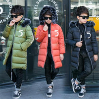 Wholesale woolen clothes for girls for sale - Group buy Winter Jackets for Boys Girls Warm Coat Kids Clothes Snowsuit Outerwear Coats Children Clothing Baby Kid Hooded Jacket Parkas
