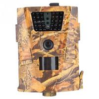 ingrosso telecamere di visione notturna di caccia-Night Vision Caccia Telecamera Antifurto Camouflage Impermeabile Infrarossi 8MP / 5MP / 3MP 720 P Trail Telecamera Caccia Videocamera Accessorio