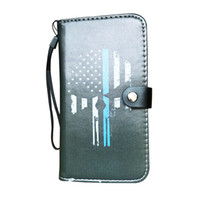 Wholesale protective case for id card for sale - Group buy Universal Cell Phone Case Wallet Premium PU Leather Cover Flip Case ID Card Holder Protective Shell for Huawei iPhone Samsung Galaxy Note