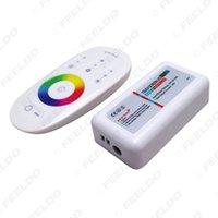 ingrosso dimmer di illuminazione a distanza-Schermo a sfioramento wireless RF 2.4G 3 canali Controllo remoto LED RGB Regolatore dimmer per lampada LED Strip Light Downlight # 968