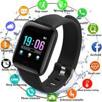 répondre aux bracelets intelligents achat en gros de-Smart Wristband Moniteur de fréquence cardiaque Smart Fitness Bracelet Pression Artérielle étanche IP67 Fitness Tracker Montre femme Homme