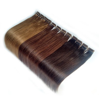 Wholesale human hair factory outlet for sale - Group buy 6D Pre bonded Hair Extensions Remy Keratin Human Hair g strands quot quot quot inch Fast Wear color Optional Factory Outlet