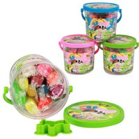 freie bildung für kinder großhandel-Kinder Clay Toys 10 Farben Kinder Bildung Toys Plastilin Clay Sicherheit harmlos Knetmasse Kinder DIY Toys Freies Verschiffen