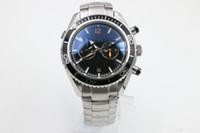 ручной ранец погружения смотреть оптовых-Горячие продажи новые часы мужчины 600 м коаксиальный планета океан автоматические механические ветер ветер часы браслет часы мужчины наручные часы погружения