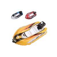 lancha de brinquedo venda por atacado-Bombas Kayak Acessórios Relógio Lancha Modelo de Navio Caiaque Barco Inflável Balão de Brinquedo Ao Ar Livre das Crianças Brincando Ao Ar Livre