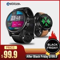 quad core smart watch großhandel-Zeblaze Thor 4 PRO 4G LTE Smart Uhr Telefon Android 7.1.1 Quad Core 16G 1G 5MP Kamera GPS SIM WIFI BT4.0 Mic Smartwatch Männer Dame