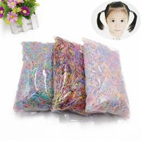 Wholesale accessories plastic packaging for sale – best About bag small package New Child Baby TPU Hair Holders Rubber Bands Elastics Girl s Tie Gum Hair Accessories