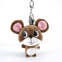 Wholesale plush heart doll for sale - Group buy Grabber Doll Inch CM Tricolor Cute Long Bearded Small Mouse Popular Plush Doll Key chain