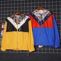 nylon casaco de inverno trincheira venda por atacado-2019 New Mens roupas de inverno designer de marca de moda casaco trench coat homens mens jaqueta de rua jaqueta mens tamanho M-2XL B102324D