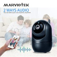 Wholesale portable wireless monitor resale online - Portable Baby Monitor WiFi IP Camera P HD Wireless Smart Baby Camera Audio Video Record Surveillance Home Security