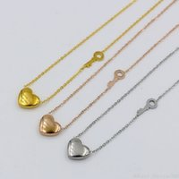Wholesale forever jewelry for sale - Group buy Forever Love Key Pendant Necklaces Rose Gold Luxury Letter Heart Charm Statement Necklace for Women Girls Jewelry Christmas Gift
