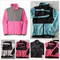 Wholesale brown baby coat resale online - North New kids designer clothes boys fleece warm softshell ski down jackets fashion winter windproof baby girl clothes pink jackets coats