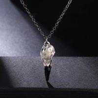 Wholesale crow necklace pendant for sale - Group buy AITIEI Personalized Crow Head Pendant Necklace For Women Punk Choker Jewelry Simple Chain Necklace Choker Men Accessories Women