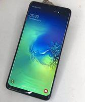 empreinte digitale bluetooth achat en gros de-Goophone S10 Plus S10 + 6,3 pouces Quad Core MTK6580 Android 9.0 4G Téléphone 1 Go de RAM 8 Go de ROM avec empreintes digitales HD 8MP déverrouillé Smart Phone