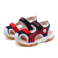 Wholesale boys closed toe sandals for sale - Group buy TELOTUNY Kids Shoes New Children Infant Kids Baby Girls Boys Summer Closed Toe Beach Shoes Fashion Sandals Sneakers MARC12