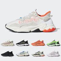 cadılar bayramı için ayakkabı toptan satış-Adidas Ozweego adiPRENE shoes 5-11 Lüks Erkekler Kadınlar Için 3 M Yansıtıcı Xeno Ozweego Hız Calabasas Rahat Ayakkabılar Eğitmen Spor Tasarımcısı Sneakers Chaussures