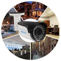 açık gece kablosuz güvenlik kamerası toptan satış-Wifi IP Kamera 1080 P AHD Bullet Gece Görüş IR Kablosuz Video CCTV Kamera Açık Ev Güvenlik Gözetleme Sistemi