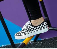 ingrosso calzature scarpe donna-Estate Moda Donna Casual Scarpe Lace-Up Comodo piatto Casual Scarpe slipony Donna Calzature per il tempo libero Donne Scarpe di tela