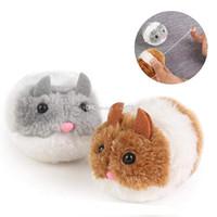 souris en peluche achat en gros de-Peluches Vibrer un peu grosse souris et vibrer chat figurines action poupée douce jouets en peluche jouets Stash Lama dessin animé poupée en peluche