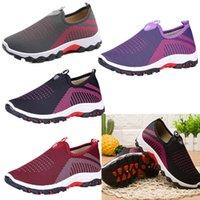 doğum sporları toptan satış-U Bir Çizmeler Analık Ayakkabı Loafer'lar Üzerinde Kayma Tuval Loafer Ayakkabı 2019 Marka Spor Seyahat Açık Sneaker Tasarımcı Koşu Ayakkabıları B71903