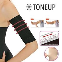 Wholesale nylon arm covers resale online - Elastic Shaping Thin Arm Bundle Arm Set Women Elastic Shaperwear Slimming sleeves arms for running cover mangas para brazo