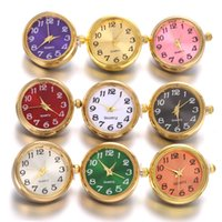 Wholesale rose gold snap buttons for sale - Group buy 2019 New Noosa mm Snap Button Jewelry Silver Gold Rose Gold Color Working Watch Snap Buttons for DIY Snaps Bracelet Bangle Chunk Jewelry